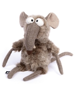 Knuffel muis 'Quick & Dirty'