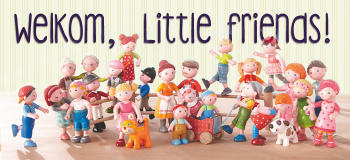 Houten speelgoed en little friends Haba